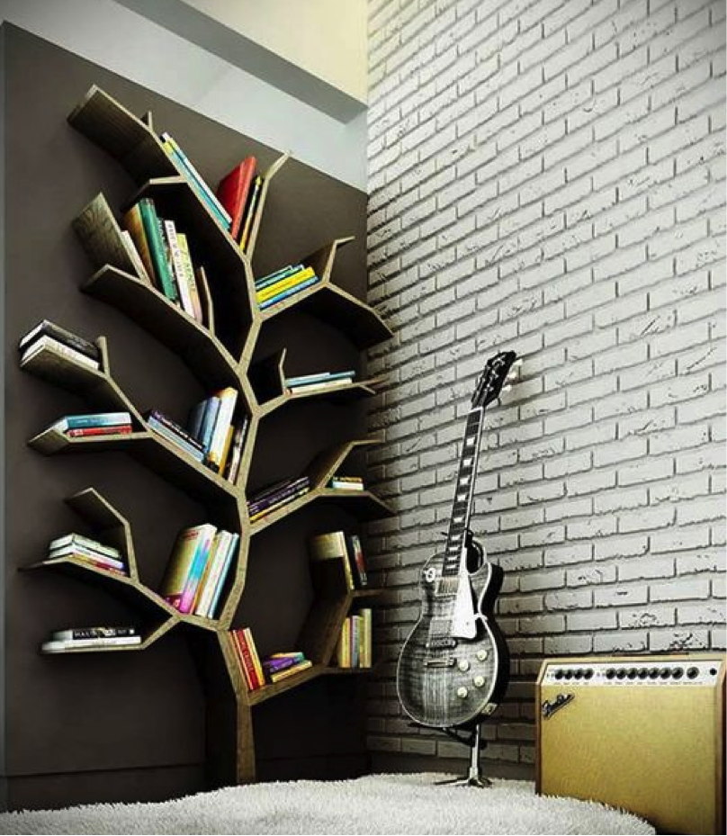 Scaffali Per Libri Design.10 Idee Originali Per Realizzare Librerie E Scaffali Creativi