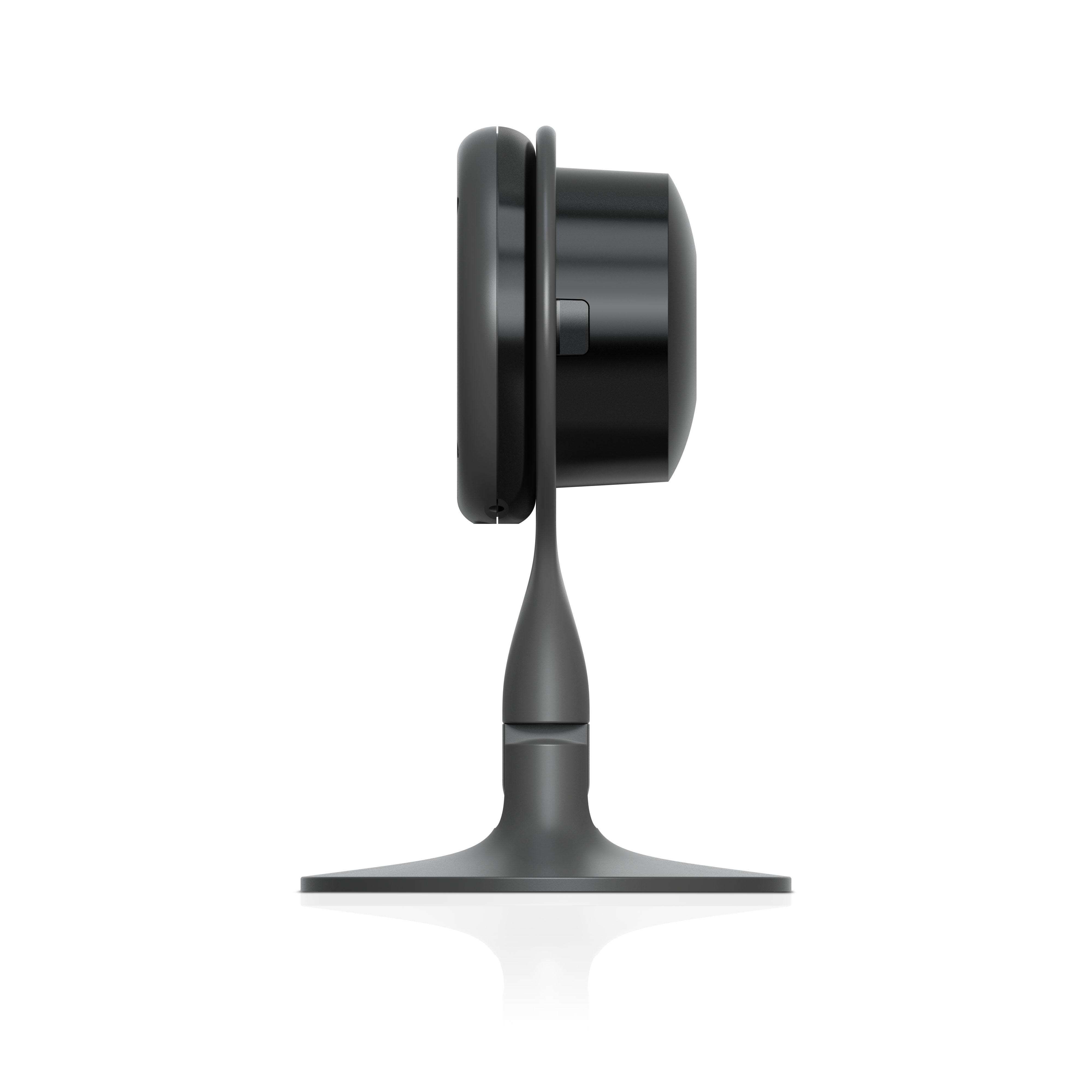 telecamera di videosorveglianza per interni nest - lato sinistro