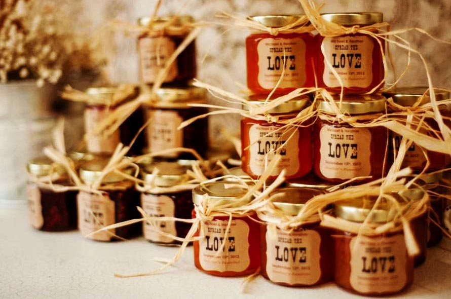 conserve e marmellate bomboniere matrimonio