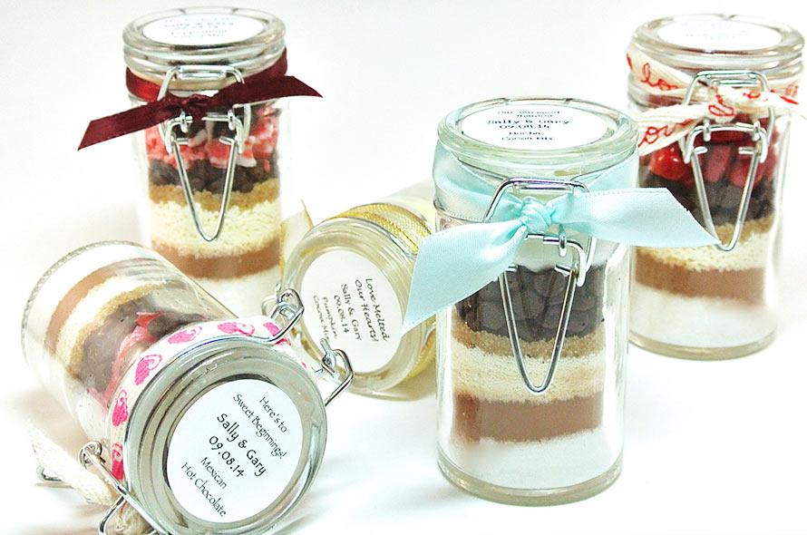 ingredienti dolce in vaso bomboniere matrimonio