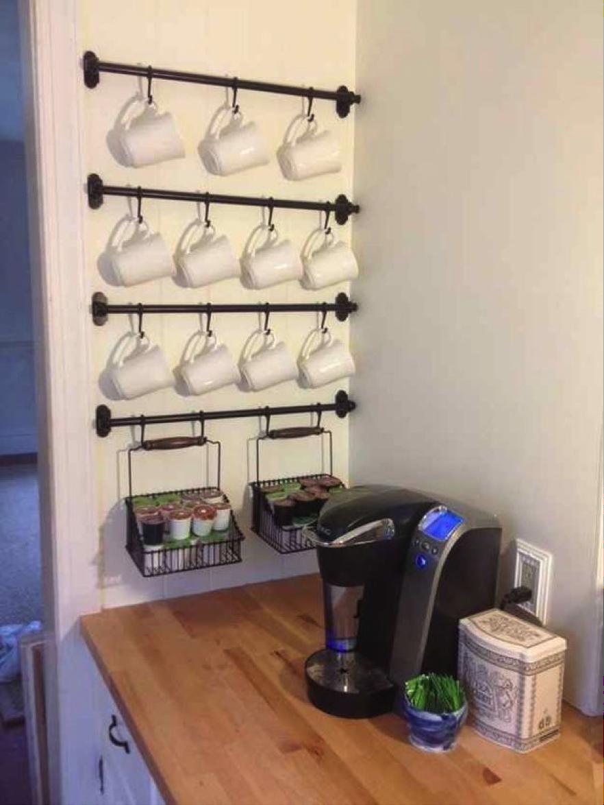 Appendi Pentole A Muro 11 idee furbe e creative per organizzare ogni stanza in casa