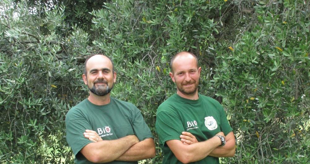 Francisco e Simone fondatori giardinieri bioetici