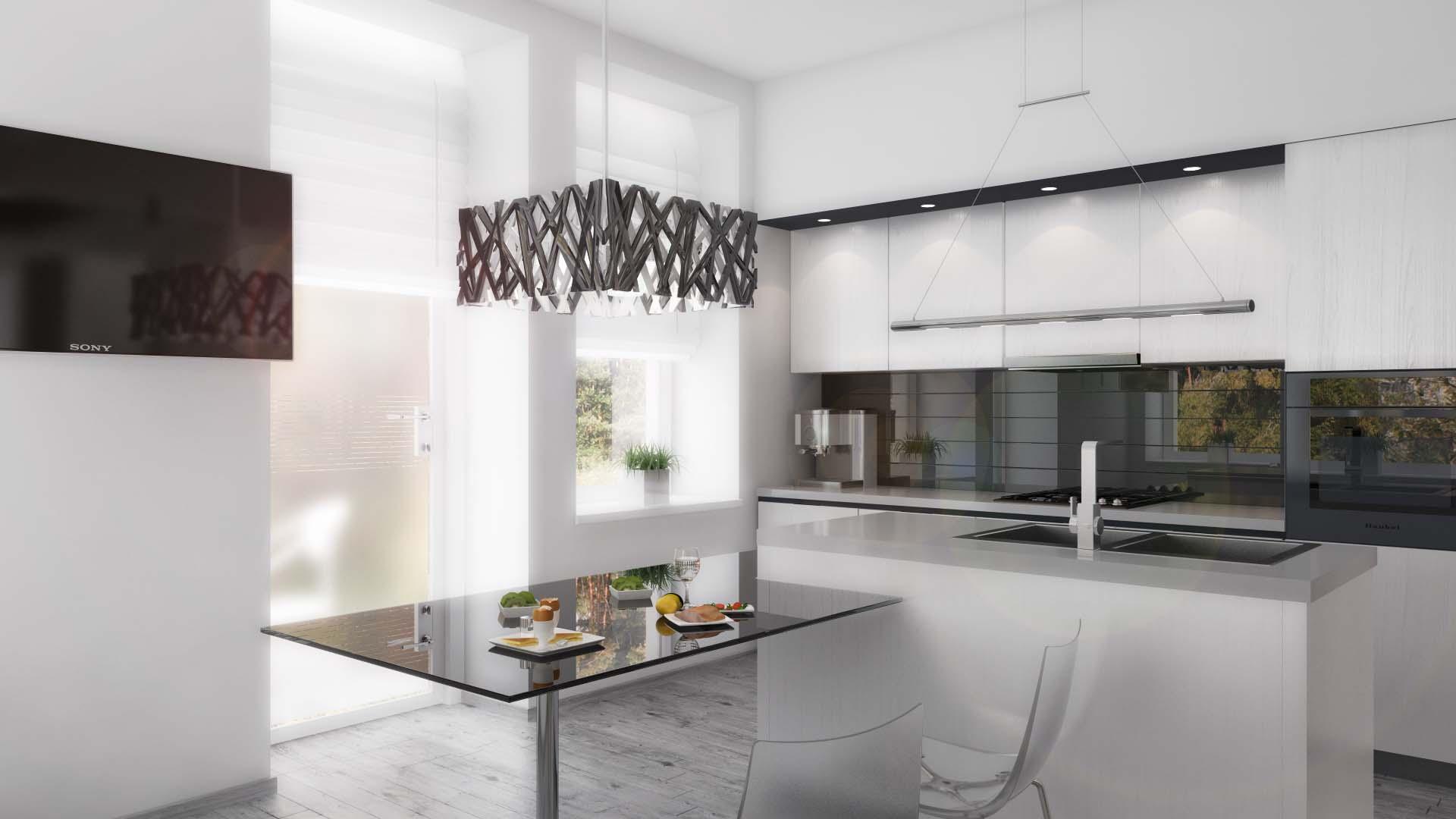 Arredare la cucina con binova urban bva for Casa habitacion minimalista