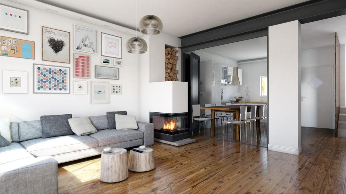 Vetrate domestiche i vantaggi visti da un esperto for Lo space senza pareti