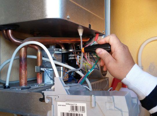 manutenzione della caldaia