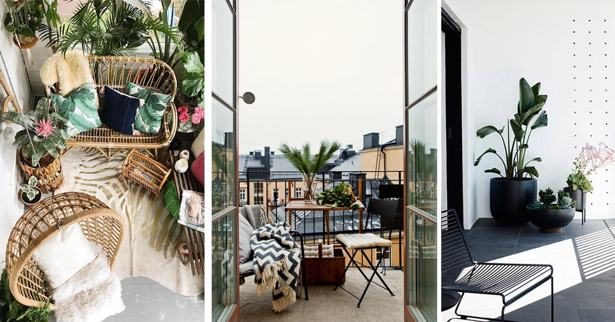 Balconi Piccoli Arredati : Balconi piccoli idee per sfruttarli al massimo prontopro