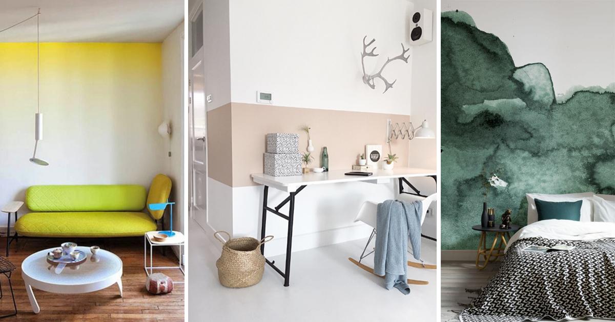 10 idee creative per dipingere i muri di casa prontopro for Idee per decorare i muri di casa