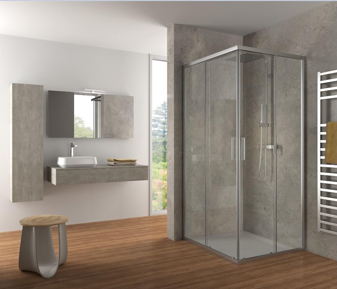 Il box doccia perfetto come coniugare l 39 aspetto estetico - Il box doccia ...
