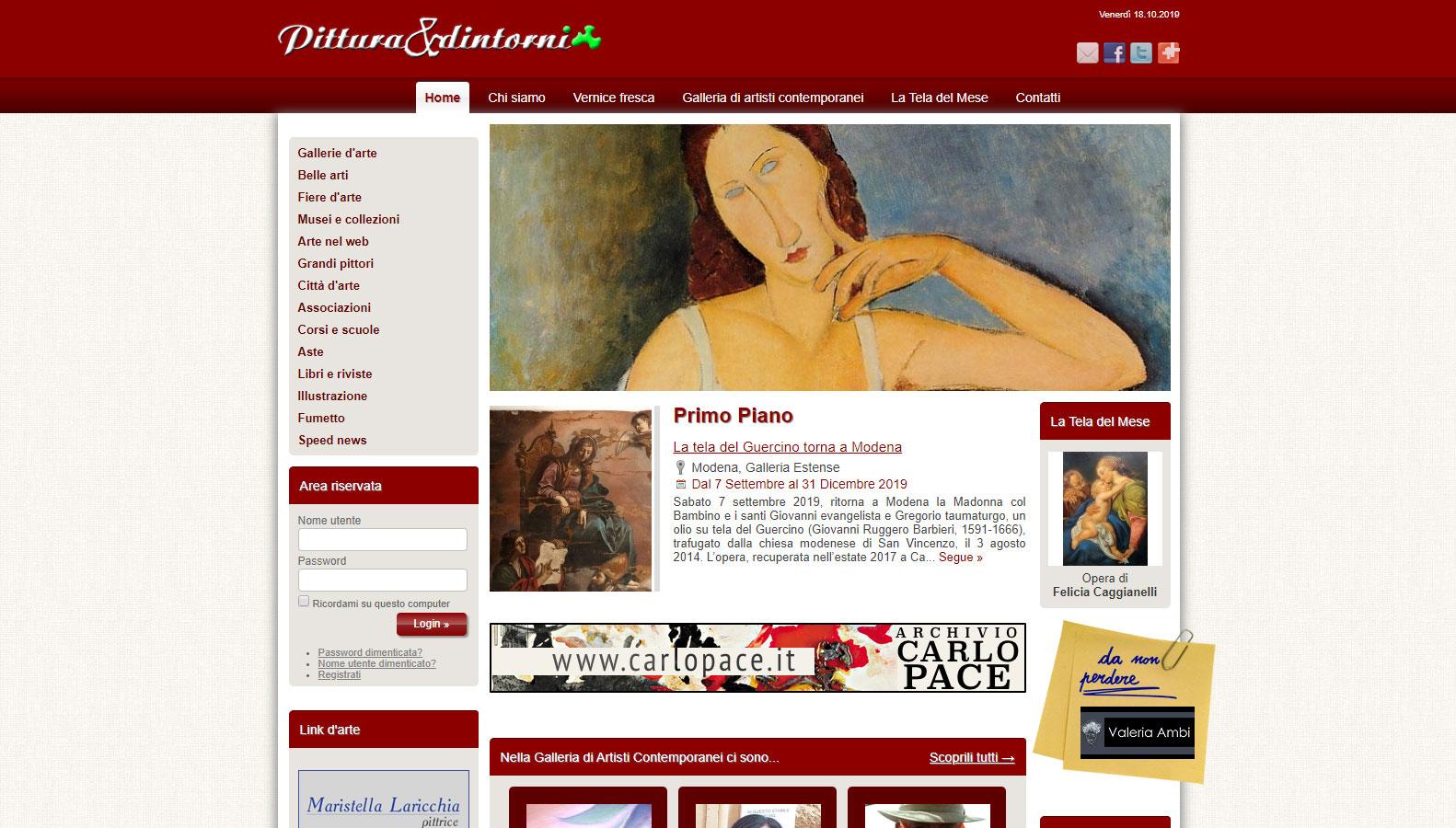 homepage pittura e dintorni