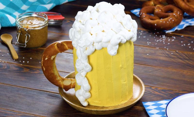 Boccale di birra - torta