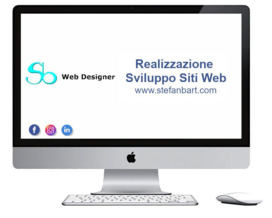 Stefan Bartoli realizzazione sito web
